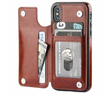 ShieldCase Wallet Case iPhone X / Xs (bruin)