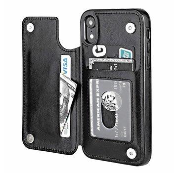 ShieldCase® Wallet Case iPhone Xr (zwart)