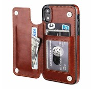 ShieldCase® Wallet Case iPhone Xr (bruin)