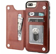 ShieldCase® Wallet Case iPhone 8 Plus / 7 Plus (bruin)