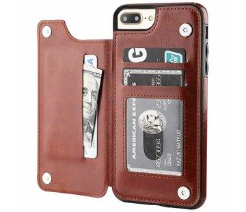 ShieldCase® Wallet Case iPhone 8 Plus / 7 Plus (bruin)