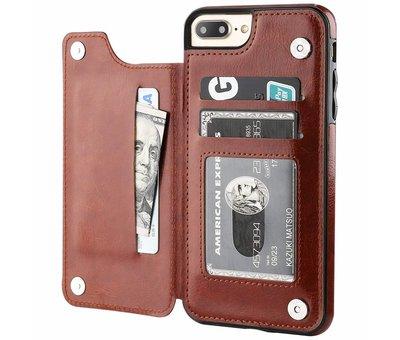 ShieldCase ShieldCase Wallet Case  iPhone 8 Plus / 7 Plus (bruin)