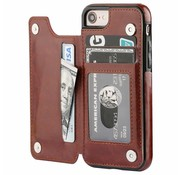 ShieldCase Wallet Case iPhone 8 / 7 (bruin)