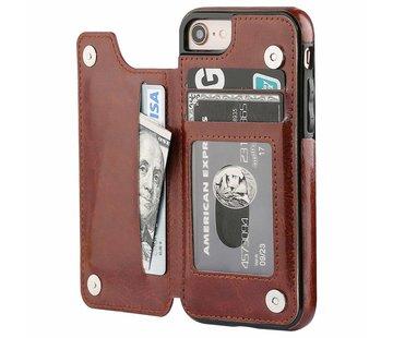 ShieldCase Wallet Case iPhone 8 / 7 (bruin)