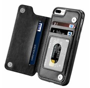 ShieldCase® Wallet Case iPhone 8 Plus / 7 Plus (zwart)