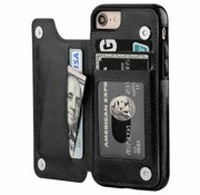 ShieldCase Wallet Case iPhone 8 / 7 (zwart)