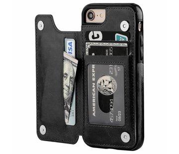 ShieldCase Wallet Case iPhone 8 / 7 (zwart)