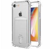 Shock case met pashouder iPhone 6 / 6s