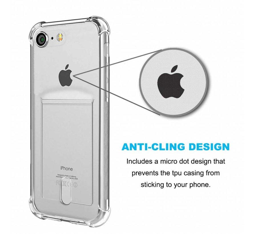 Shieldcase Shock case met pashouder iPhone 6 / 6s