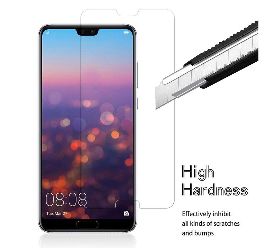 ShieldCase Huawei P20 Tempered Glass Screenprotector