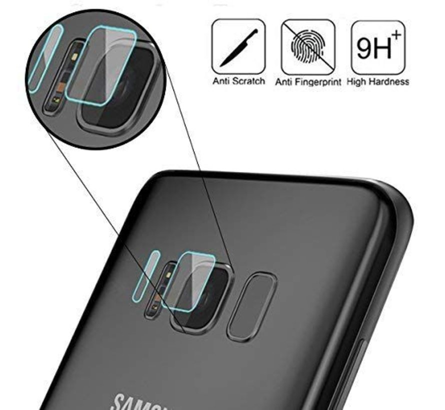 Plastic Camera Lens protector Samsung Galaxy S8