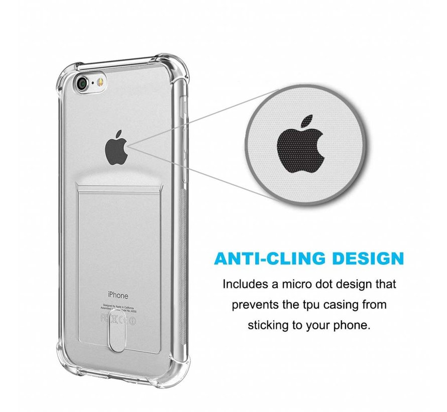 ShieldCase iPhone 8 Shock case met pashouder
