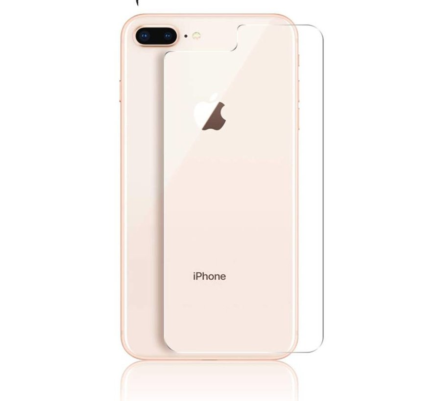 ShieldCase Tempered Glass Back  Screenprotector iPhone  8  Plus