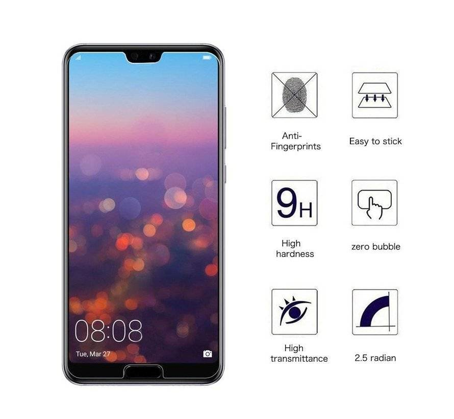 ShieldCase Huawei Tempered Glass
