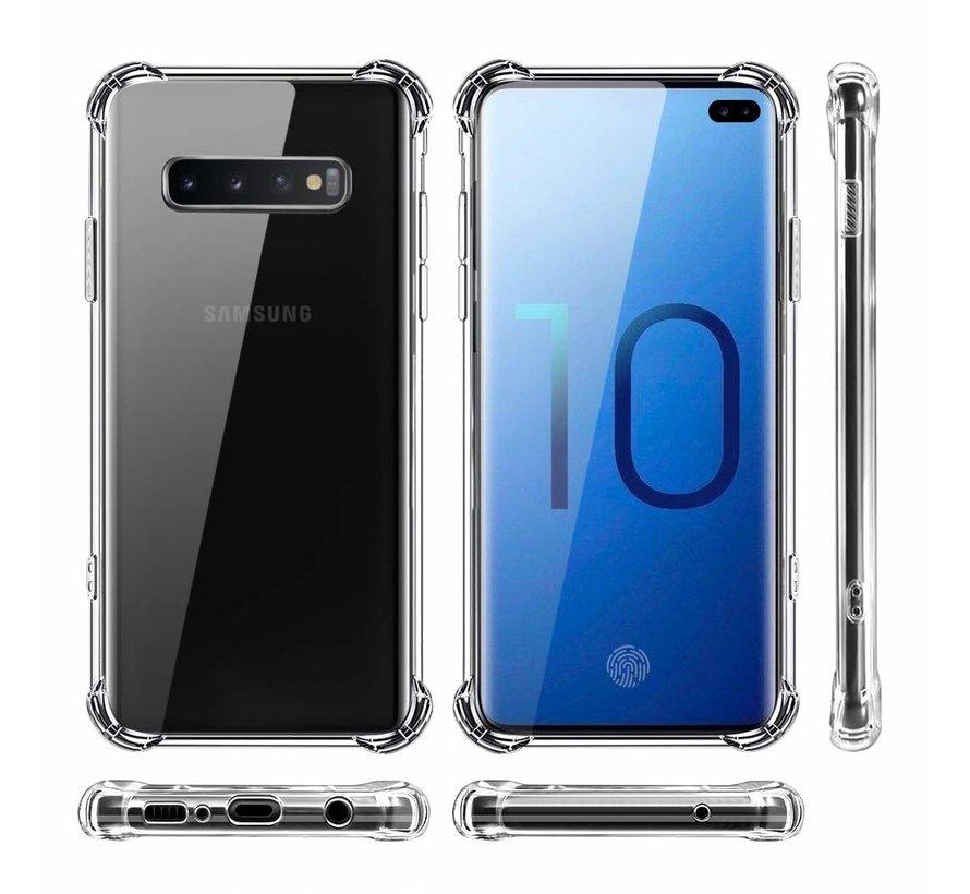 ShieldCase Shock case Samsung Galaxy S10 (transparant)