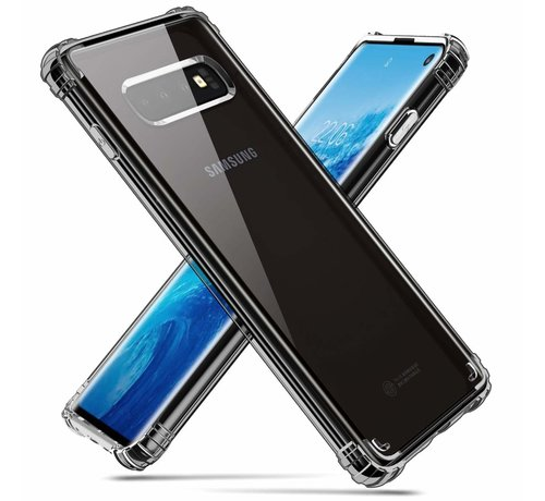 ShieldCase ShieldCase Shock case Samsung Galaxy S10 (transparant)