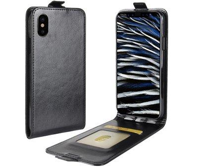 ShieldCase® ShieldCase iPhone X / Xs flipcase zwart leer