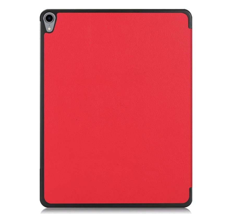 Just in Case Apple iPad Pro 12.9 2018 Smart Tri-Fold Case (Red)