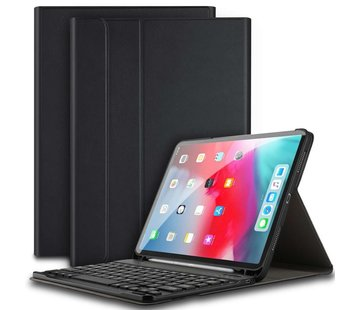 Just in Case Apple iPad Pro 11 2018 Premium Bluetooth Keyboard Cover (Black)