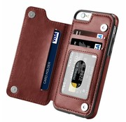 ShieldCase Wallet Case iPhone 6 Plus (bruin)