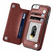 Wallet Case iPhone 6 Plus (bruin)