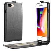ShieldCase Flipcase zwart leer iPhone 7 / 8 case