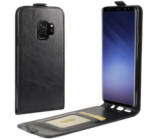 ShieldCase® ShieldCase Flipcase zwart leer Samsung Galaxy S9