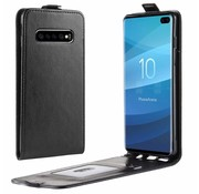 ShieldCase Flipcase zwart leer Samsung Galaxy S10