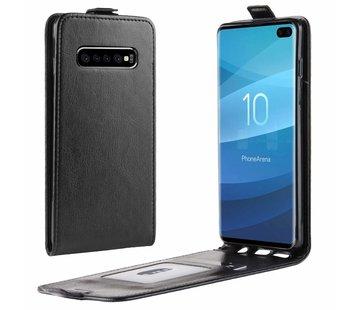 ShieldCase Flip case Samsung S10 zwart leer