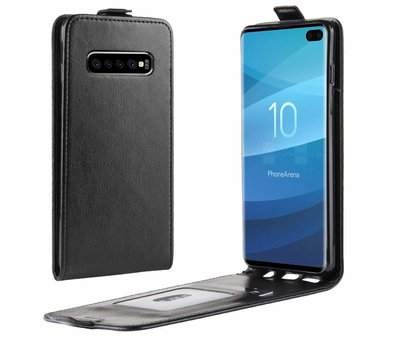 ShieldCase ShieldCase Flip case Samsung S10 zwart leer