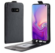 ShieldCase® Flipcase Samsung Galaxy S10e zwart leer