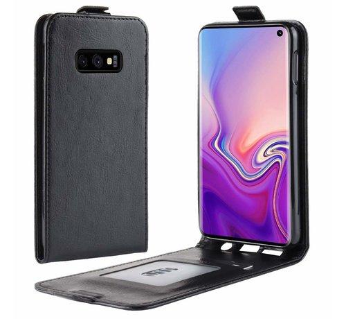 ShieldCase® ShieldCase Flipcase  Samsung Galaxy S10e zwart leer