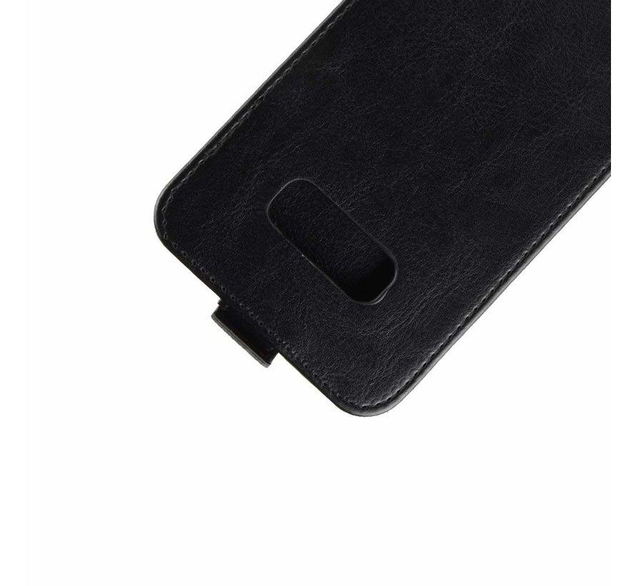 ShieldCase Flipcase  Samsung Galaxy S10e zwart leer