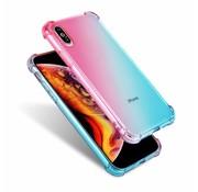 ShieldCase® Roze-Blauwe Shock case iPhone X / Xs