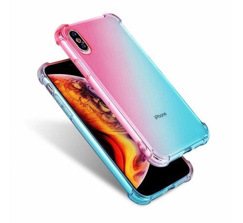 ShieldCase ShieldCase Roze-Blauwe Shock case iPhone X / Xs