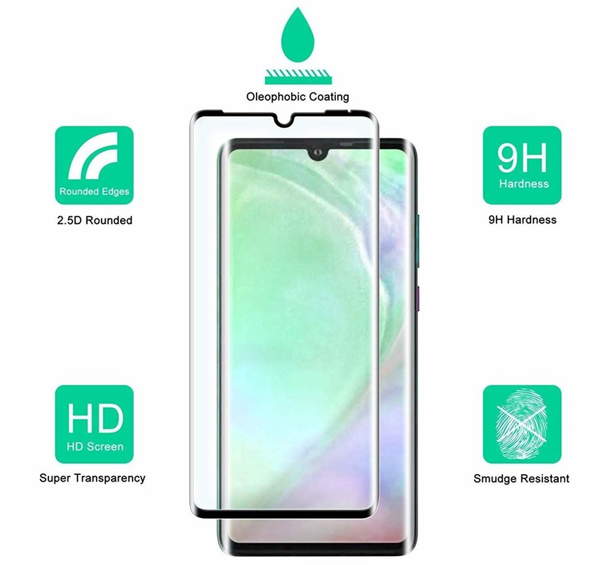 ShieldCase Huawei P30  Tempered Glass Screenprotector