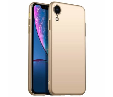 ShieldCase Ultra thin iPhone Xr case (goud)