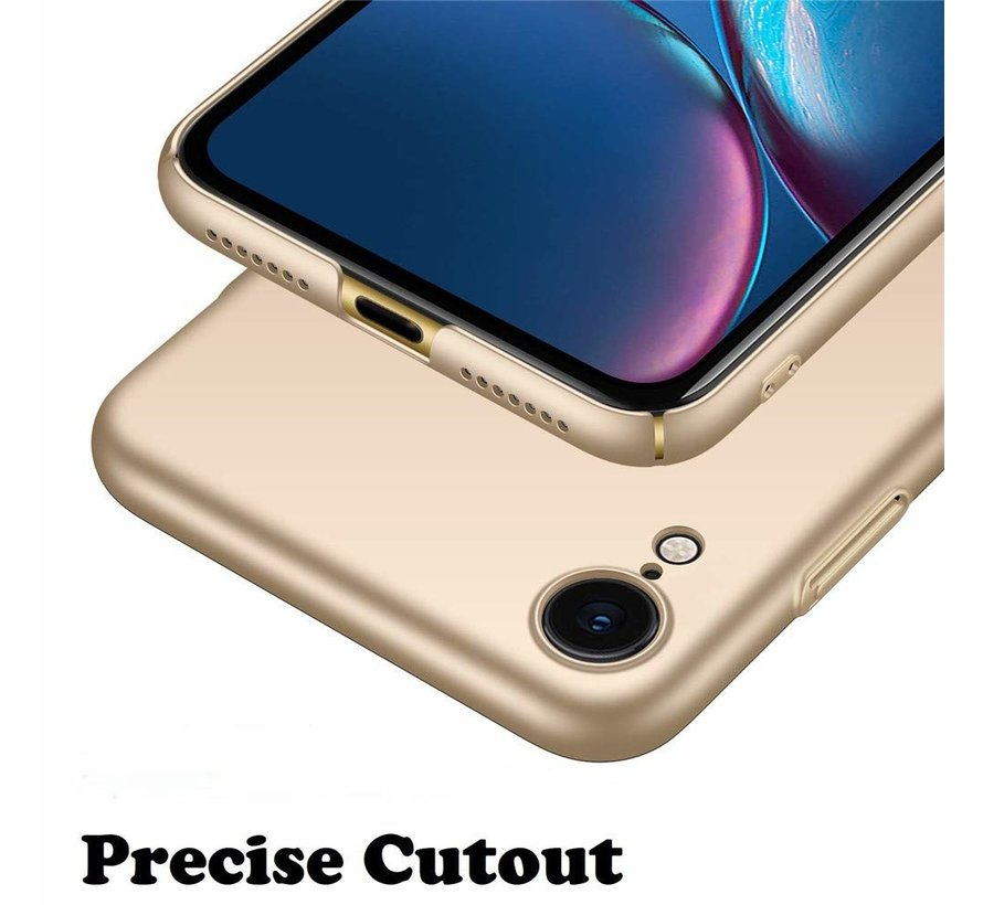 ShieldCase Ultra thin iPhone Xr case (goud)