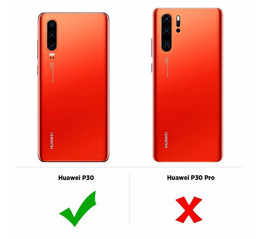 ShieldCase Ultra thin silicone Huawei P30 case (transparant)