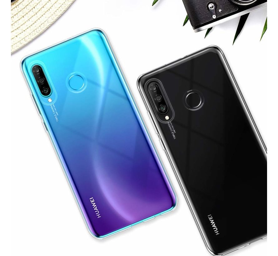 ShieldCase Ultra thin silicone Huawei P30 Lite case (transparant)