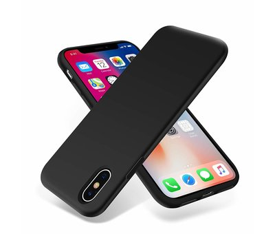 ShieldCase ShieldCase Siliconen case iPhone X / Xs  (zwart)