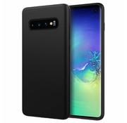 ShieldCase Siliconen case Samsung Galaxy S10 (zwart)