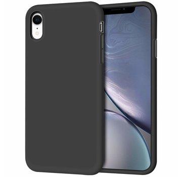 ShieldCase® Silicone case iPhone Xr (zwart)