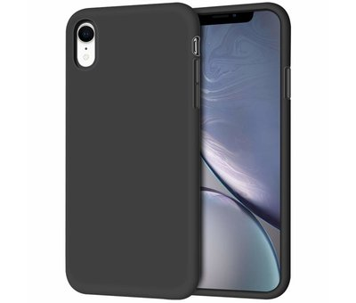 ShieldCase Shieldcase Silicone case iPhone Xr (zwart)