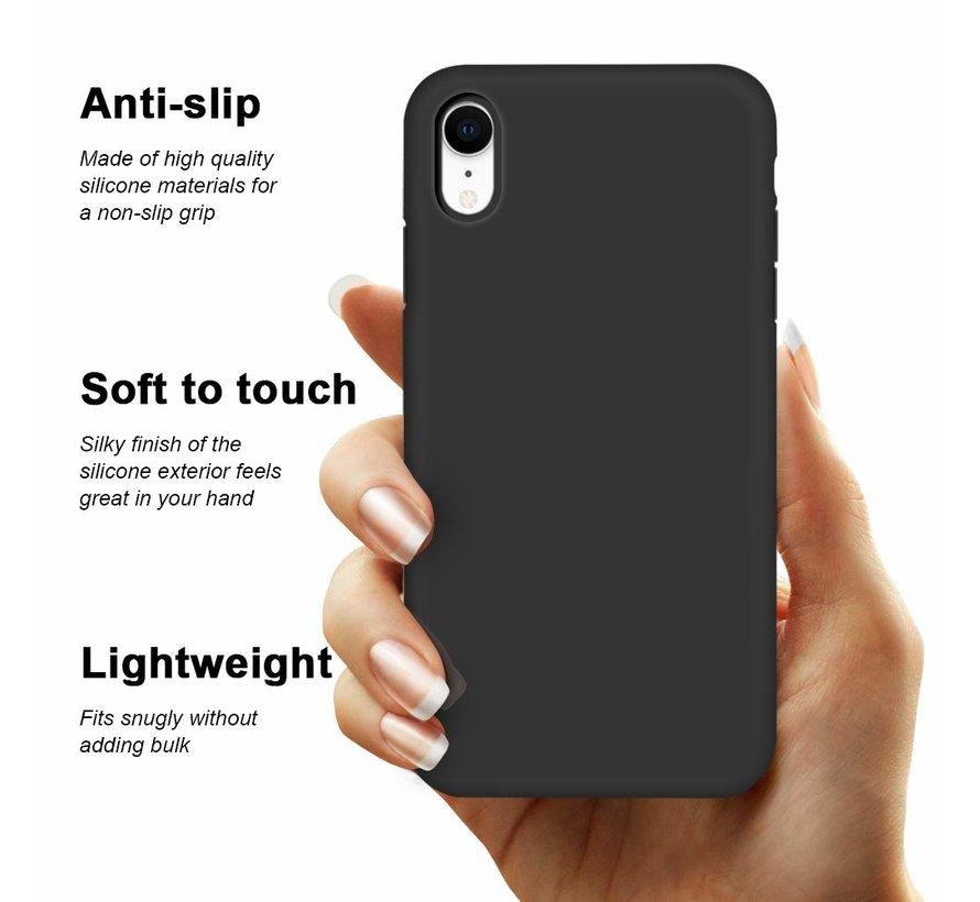ShieldCase Siliconen case iPhone Xr  (zwart)