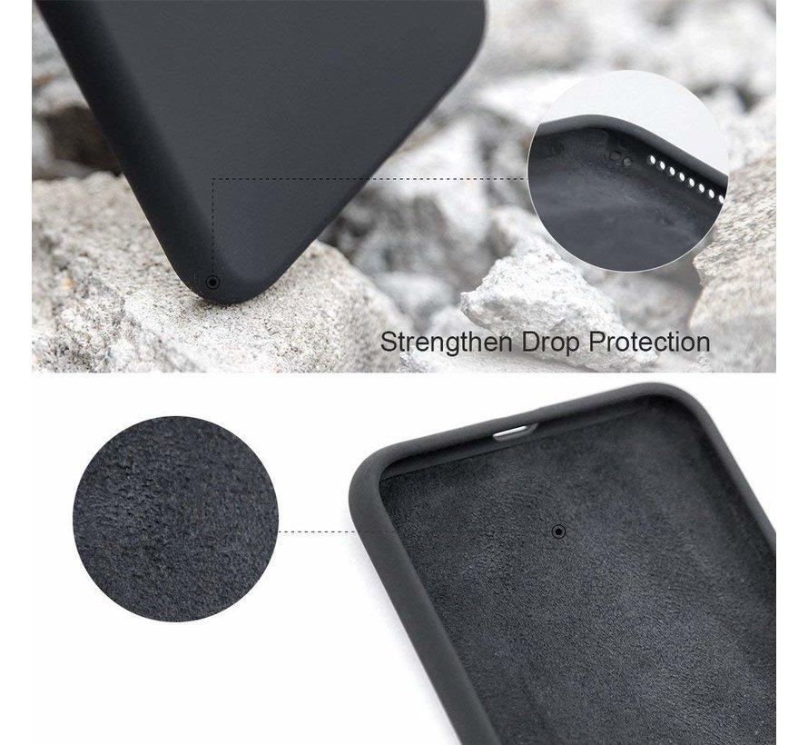 Shieldcase Silicone case iPhone 7 / 8 (zwart)
