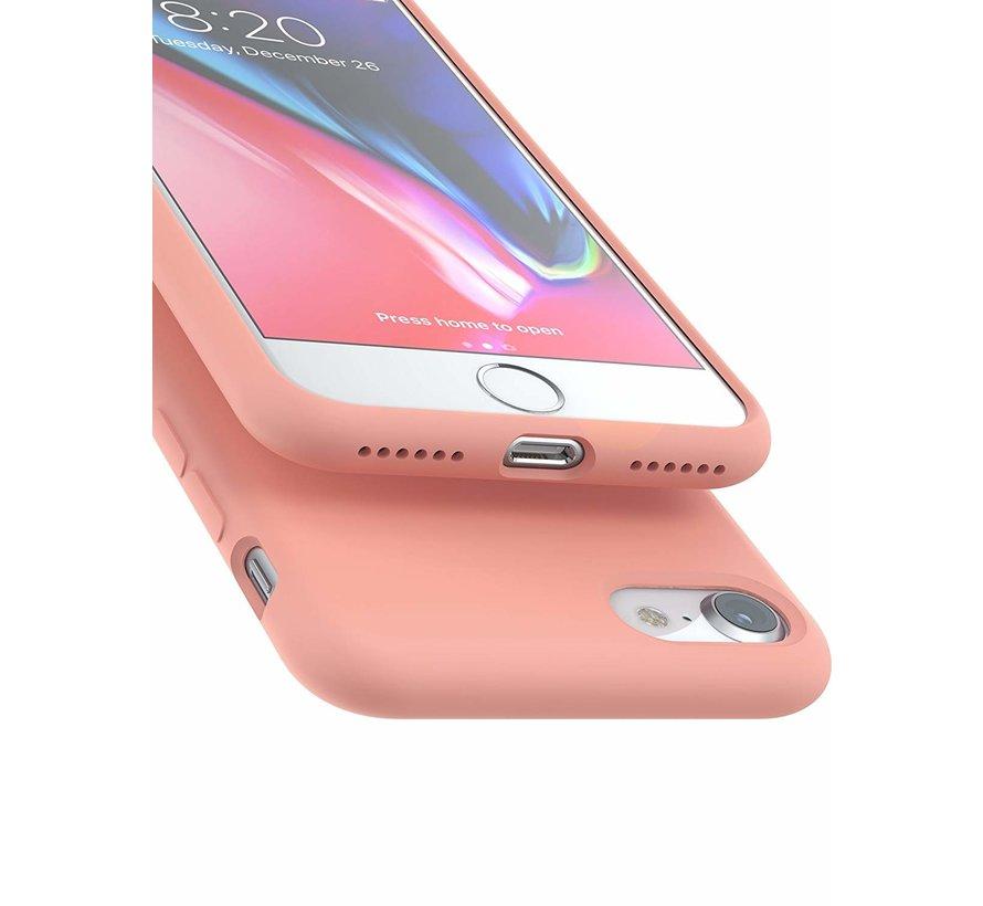 ShieldCase Siliconen case iPhone 7 / 8  (roze)