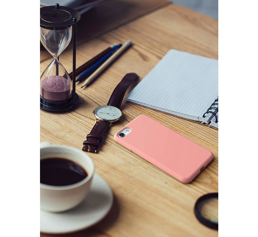 Shieldcase Silicone case iPhone 7 / 8  (roze)