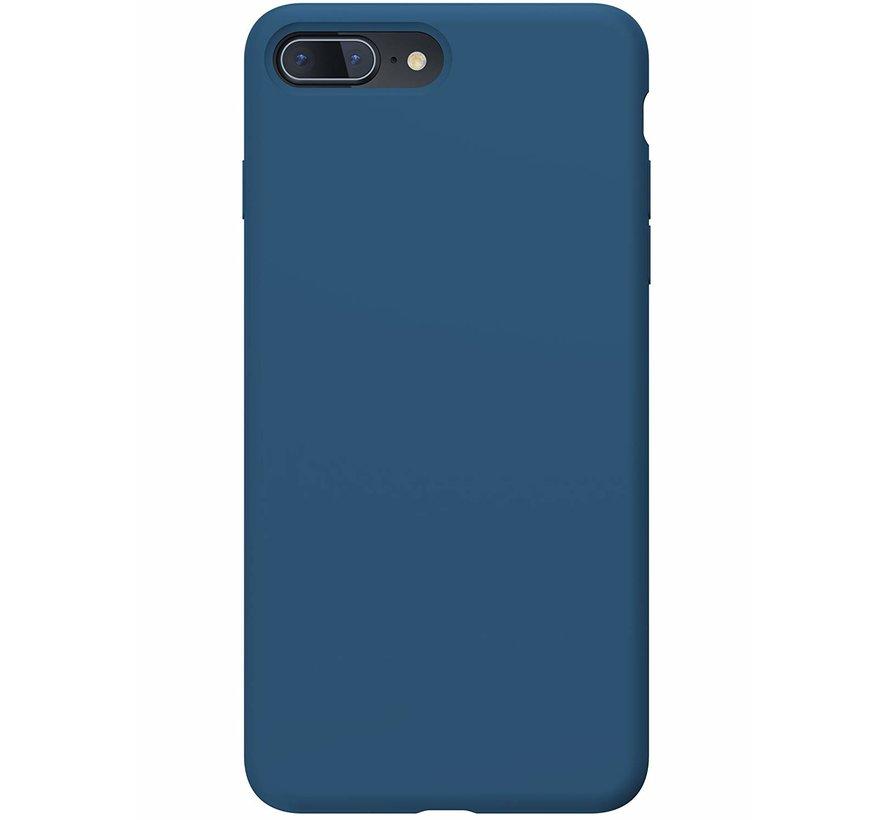 Shieldcase Silicone case iPhone 8 Plus / 7 Plus (blauw)
