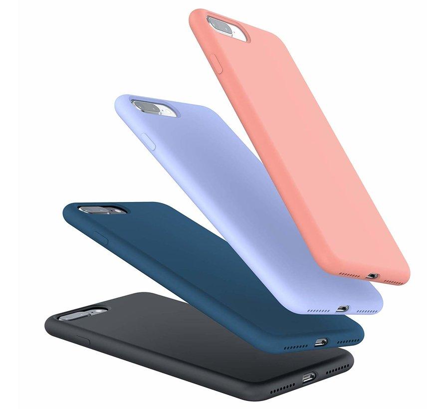 ShieldCase Siliconen case iPhone 8 Plus / 7 Plus  (blauw)